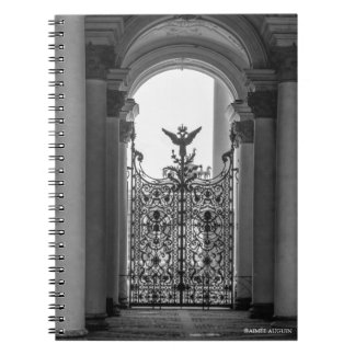 St. Petersburg Hermitage Gate Notebook