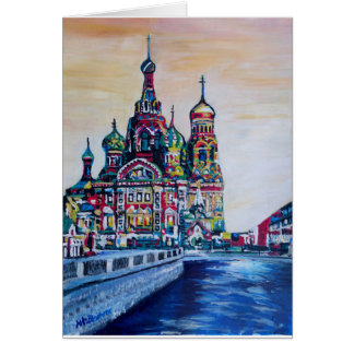 St Petersburg I Greeting Card