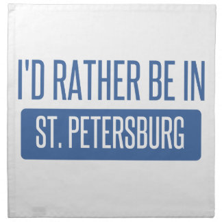 St. Petersburg Napkin