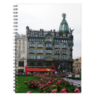 St. Petersburg, Singer House Spiral Notebook