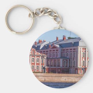 St.Petersburg State University Basic Round Button Keychain