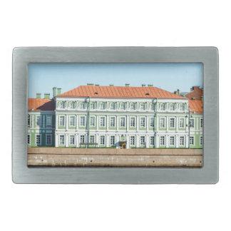 St.Petersburg State University Embankment Rectangular Belt Buckle