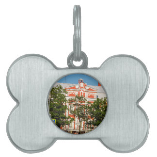 St.Petersburg State University Russia Pet Name Tag