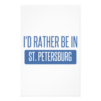 St. Petersburg Stationery