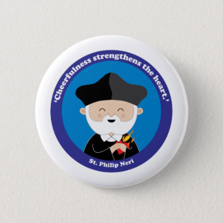 St. Philip Neri 2 Inch Round Button