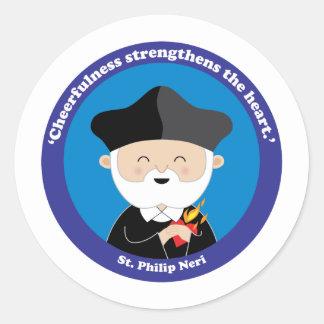 St. Philip Neri Classic Round Sticker