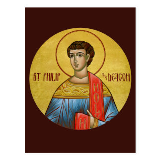 St. Philip the Deacon Prayer Card Postcard