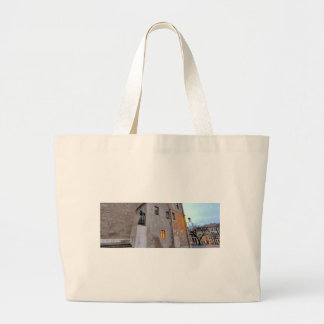 St-Pierre Cathedral in Geneva Switzerland Large Tote Bag