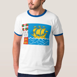 St. Pierre Flag T-shirt