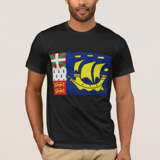 St Pierre & Miguelon's Flag T-Shirt