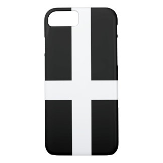 St. Piran's flag / flag of Cornwall iPhone 8/7 Case