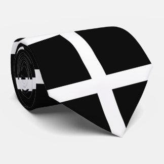 St. Piran's flag / flag of Cornwall Tie