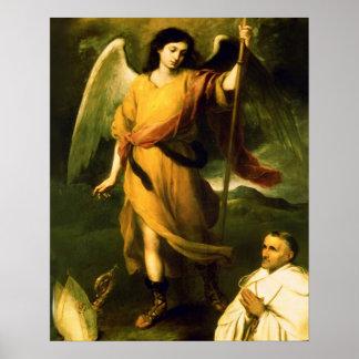 St Raphael Archangel Poster A