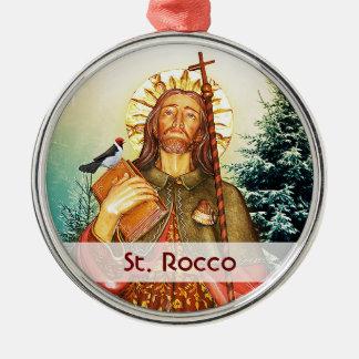 St. Rocco - San Rocco - St. Roch Template Metal Ornament