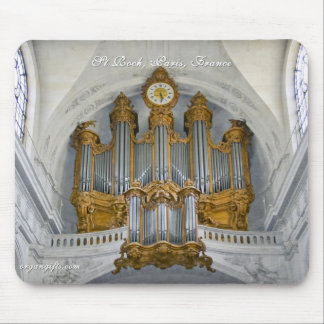 St Roch pipe organ Mouse Pad
