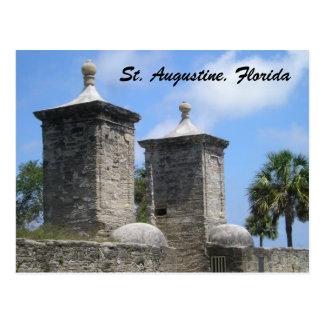 St Saint Augustine Florida Postcard