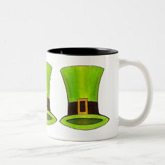 St. Saint Patrick's Day Green Leprechaun Hat Mug