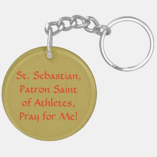 St. Sebastian (SNV 24) Blank/DIY Back Keychain