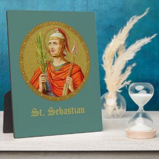 "St. Sebastian (SNV 24) (Round Image) 8""x10"" Plaque"