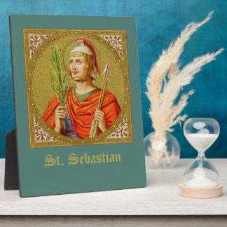 "St. Sebastian (SNV 24) (Square Image) 8""x10"" Plaque"