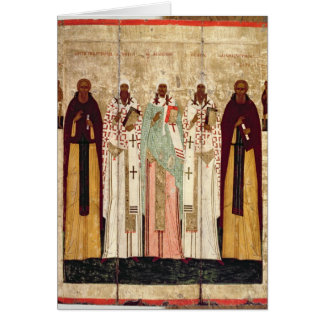 St. Sergius of Radonesh with the Saints of Card
