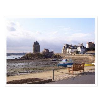 St Servan, Brittany, France Postcard