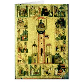 St. Simeon, 16th century Greeting Card
