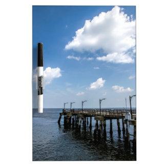 St Simon's Island Georgia Public Dock Dry-Erase Whiteboards