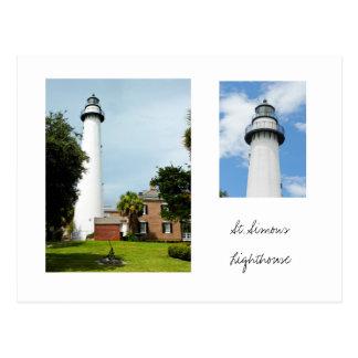 St. Simons Lighthouse Postcard