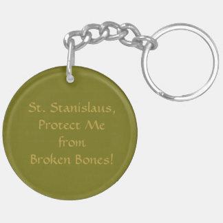 St. Stanislaus Kostka (SNV 25) Blank/DIY Back Keychain