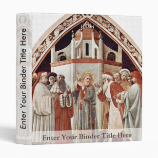 St. Stephen By Uccello Paolo (Best Quality) 3 Ring Binder