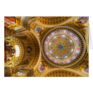 St Stephens Basilica Budapest Card