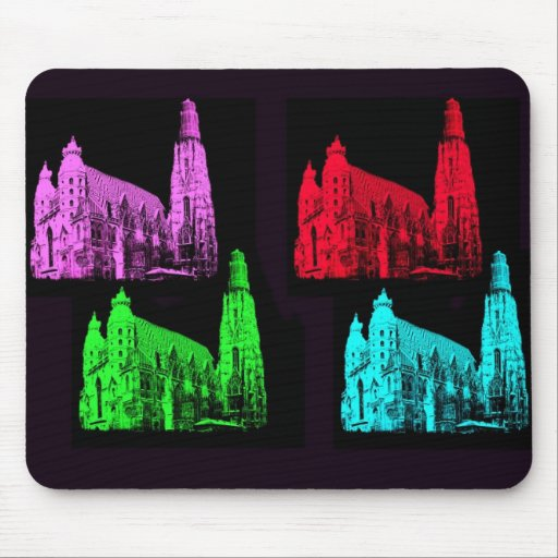 St. Stephen's Cathedral Collage Mousepad