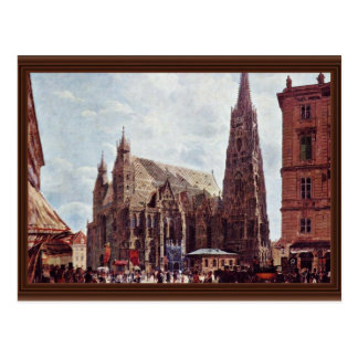 St. Stephen'S Cathedral From Stock Im Eisen Postcard