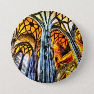 St Stephens Cathedral Vienna Art 3 Inch Round Button