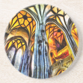 St Stephens Cathedral Vienna Art Coaster