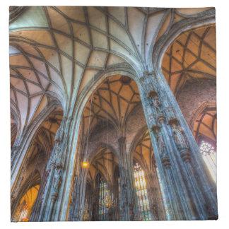 St Stephens Cathedral Vienna Napkin