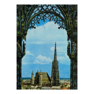 St Stephen's Cathedral Vienna Poster