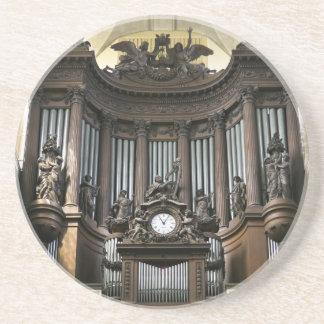 St Sulpice pipe organ Coaster