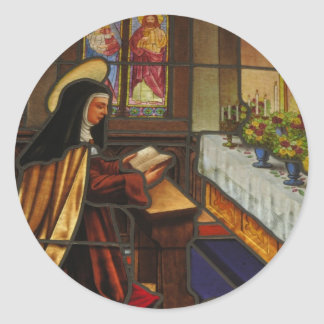 St. Teresa of Avila (2) Classic Round Sticker