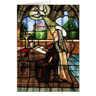 St. Teresa of Avila (3) Card