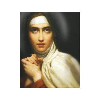 ST TERESA OF AVILA CANVAS PRINT