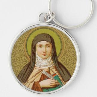 St. Teresa of Avila (SNV 27) Premium Round Keychain