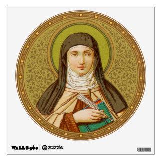 St. Teresa of Avila (SNV 27) Round Wall Decal