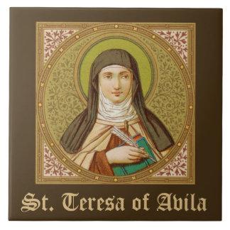 St. Teresa of Avila (SNV 27) (Square Image) Tile