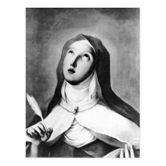 St. Theresa of Avila Postcard