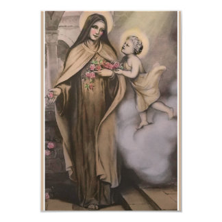 St. Therese 5 Day Novena Prayer Card