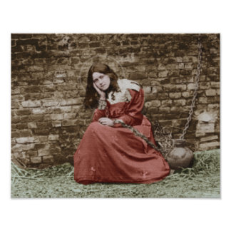 ST THERESE AS JOAN OF ARC. POSTER