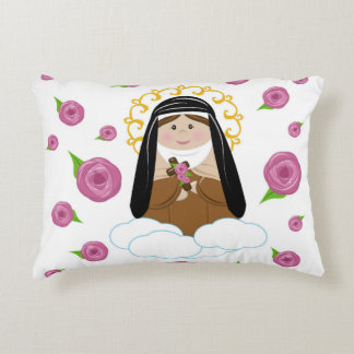 St. Therese Decorative Pillow
