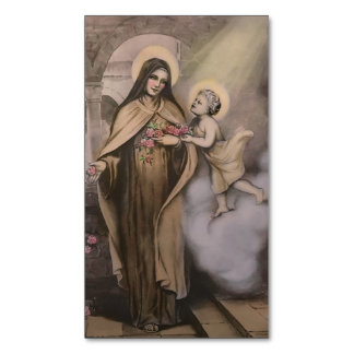 St. Therese Magnetic Holy Card (Pack of 25)